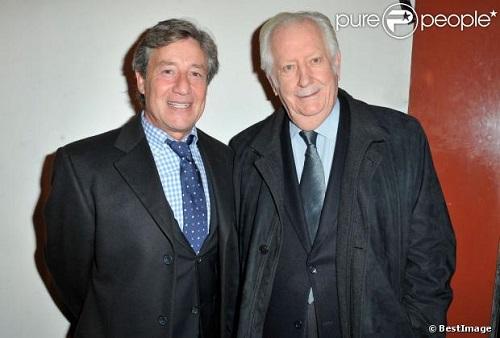 Patrick Sabatier et Pierre Bellemarre