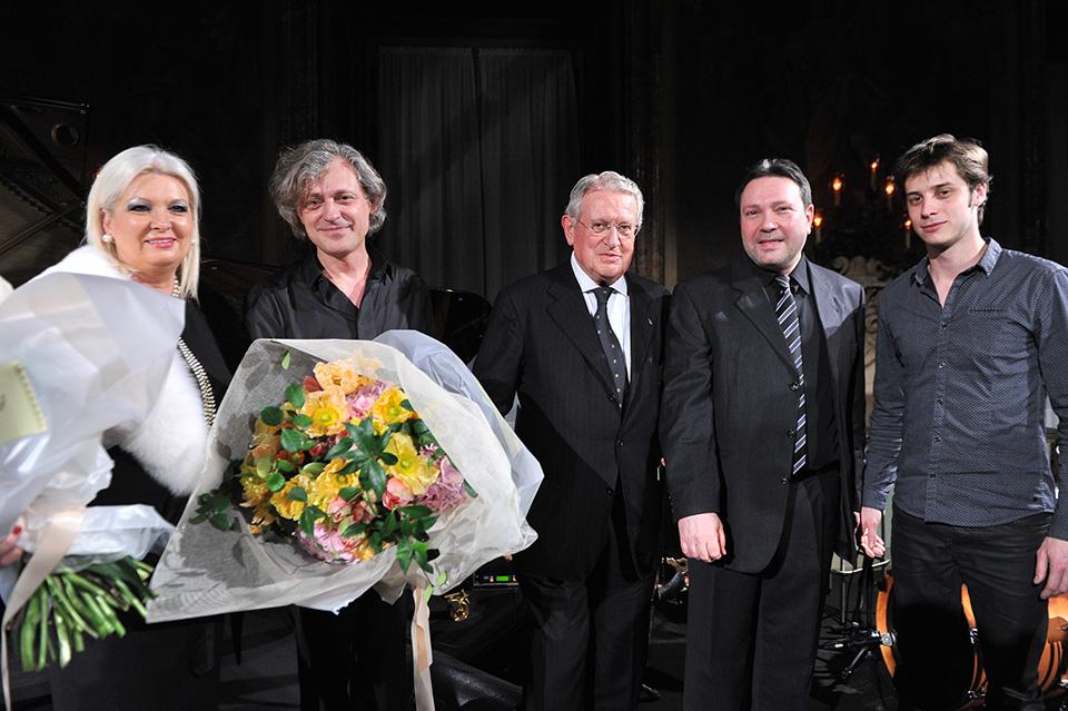 Gabriella Scarpa, Dimitri Naïditch, Luigino Rossi, Gilles Naturel, Arthur Alard
