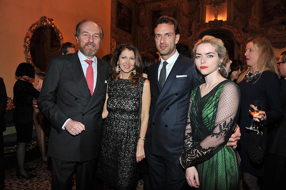Arturo Artom, Alessandra Retini, Guglielmo Miani, Alice Etro