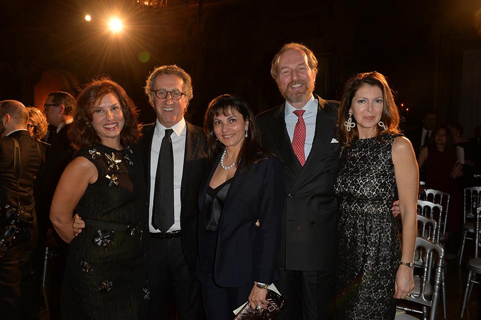 Maria Felice Mauri, Ernesto Mauri, Roberta Rossi, Arturo Artom, Alessandra Retini