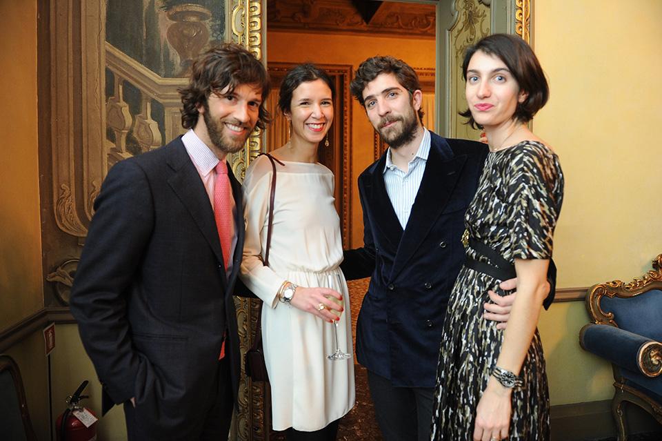 Simone Baudo, Daniela Lombardi, Carlo Borromeo;Marta Ferri
