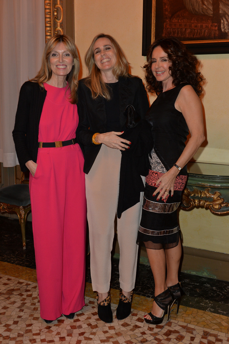 Gabriella Dompè, Isabelle Clavarino, Umberta Beretta